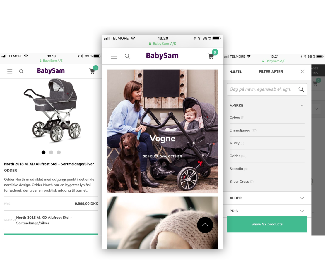 Hesehus står bag BabySams webdesign