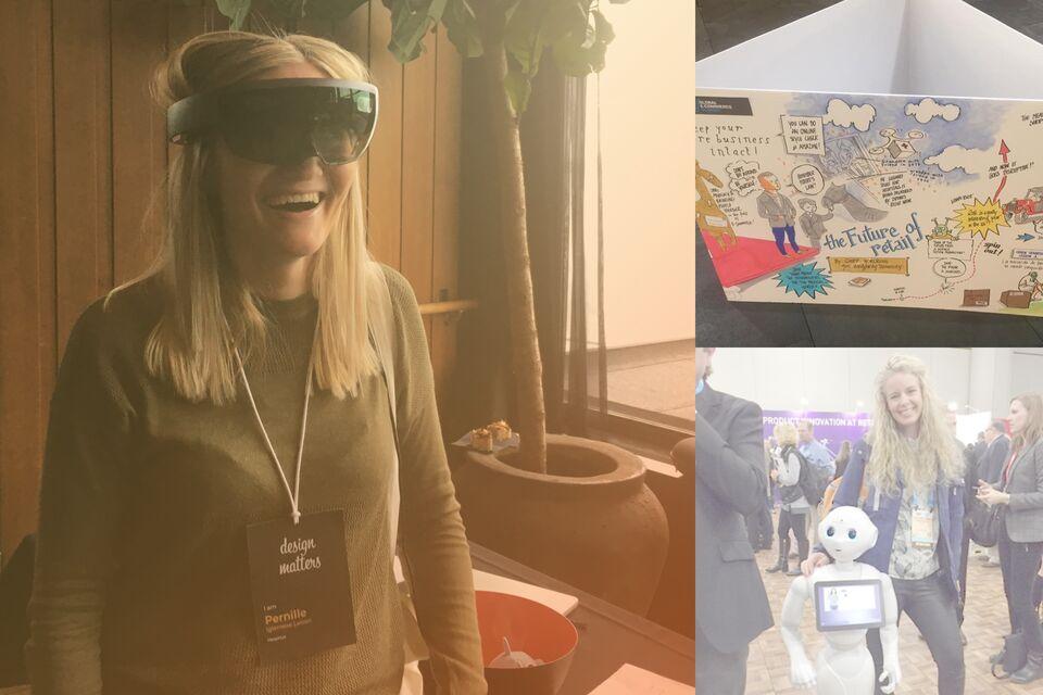 E-handelshuset Hesehus deltager på verdens største retailkonference i New York - altid med på de nyeste digitale trends