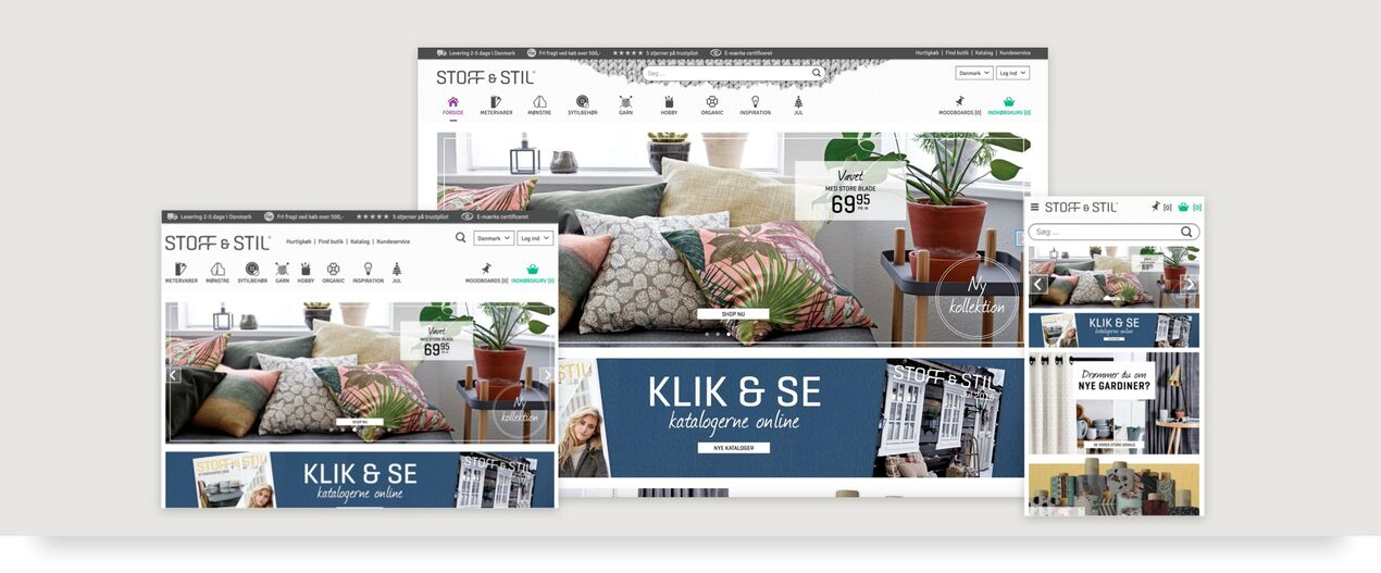 Hesehus CMS is fully responsive