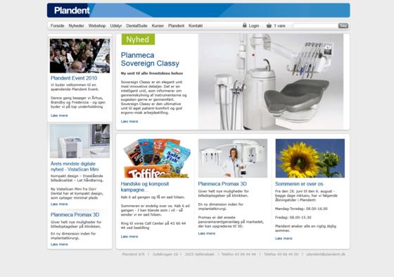 Plandents B2B-webshop er udviklet af Hesehus