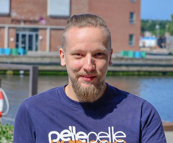 Jesper Gundersen, frontendudvikler hos Hesehus