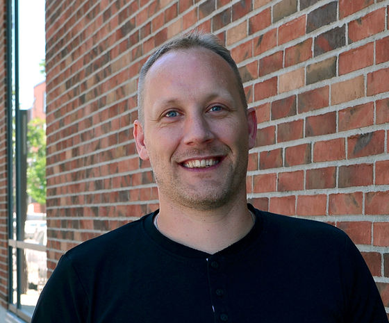 Martin Strøm, IT-administrator hos Hesehus
