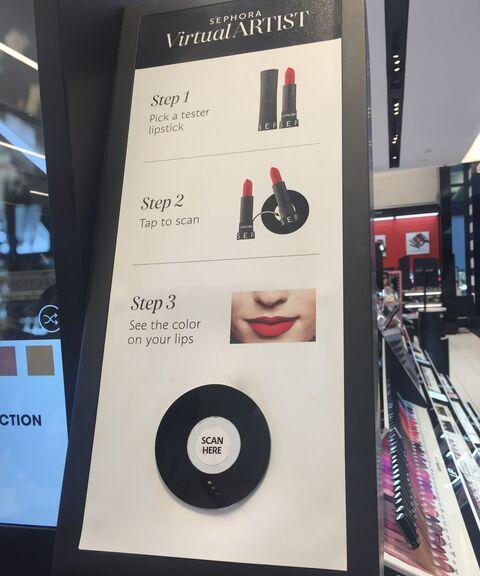 Sephora Tap & Try