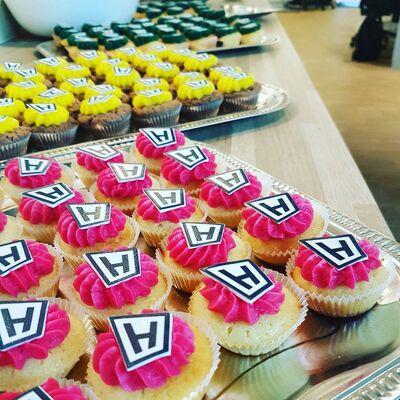 Hesehus cupcakes