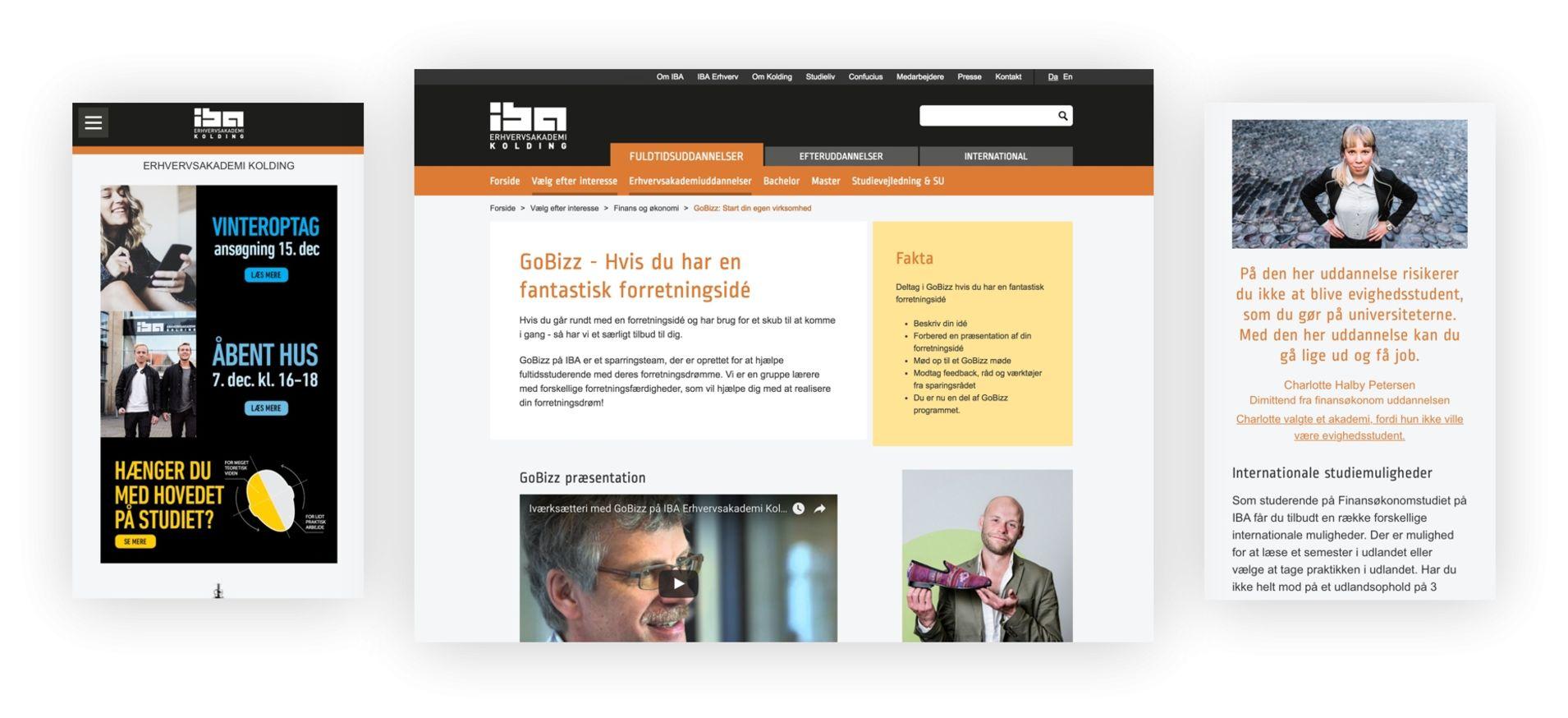 Responsive webshop fra e-handelshuset Hesehus
