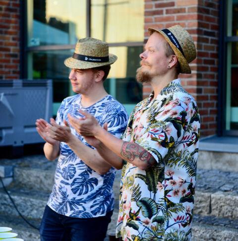 Udsigten fra e-handelshuset Hesehus' lokaler på havnen i Odense