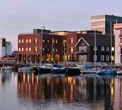 The e-commerce solution provider Hesehus is located on the harbour of Odense