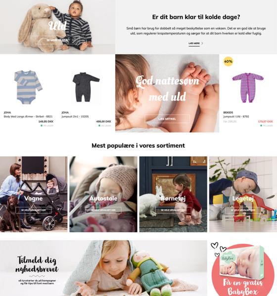 Skab unikke og skræddersyede købsoplevelser med en Bizzkit Webshop