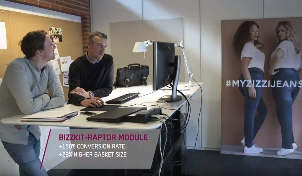 Video about the Bizzkit-Raptor personalization module