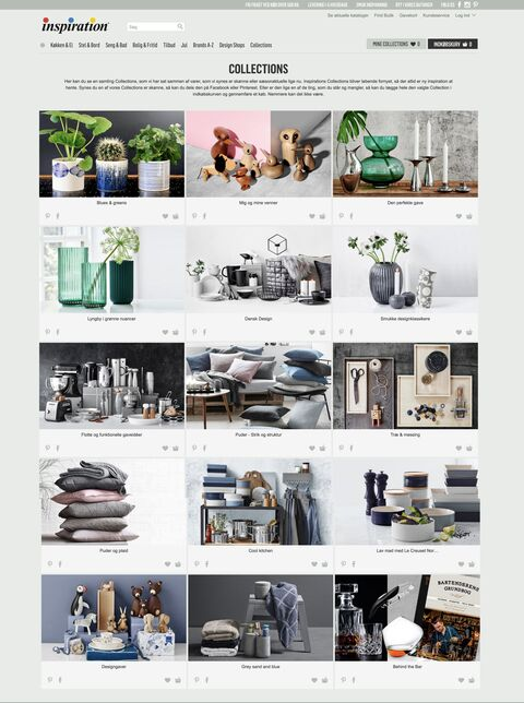 Collections from Inspiration