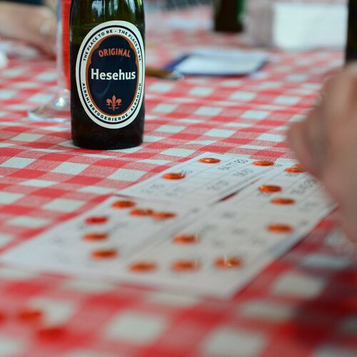Hesehus beer, bingo and Friday bar