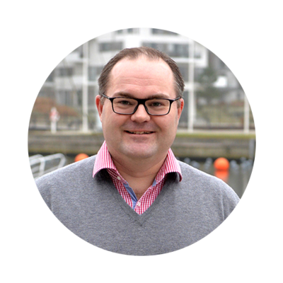 Lars Hedal, CEO hos Hesehus