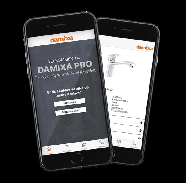 Damixa Pro app
