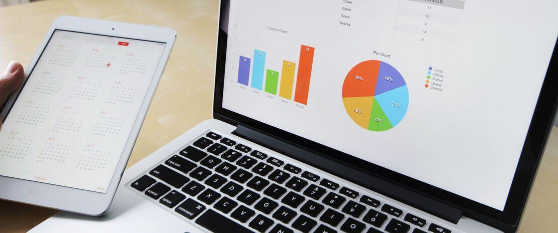 Digitale data på pc og tablet