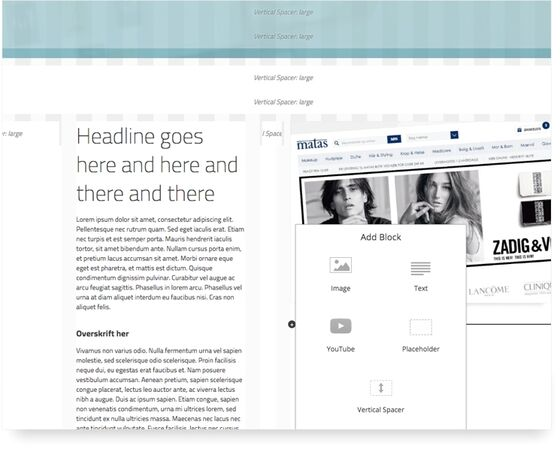 Kombiner inspirationsuniverser med unikke købsoplevelser i Bizzkit CMS og indfri jeres kunders onlineambitioner