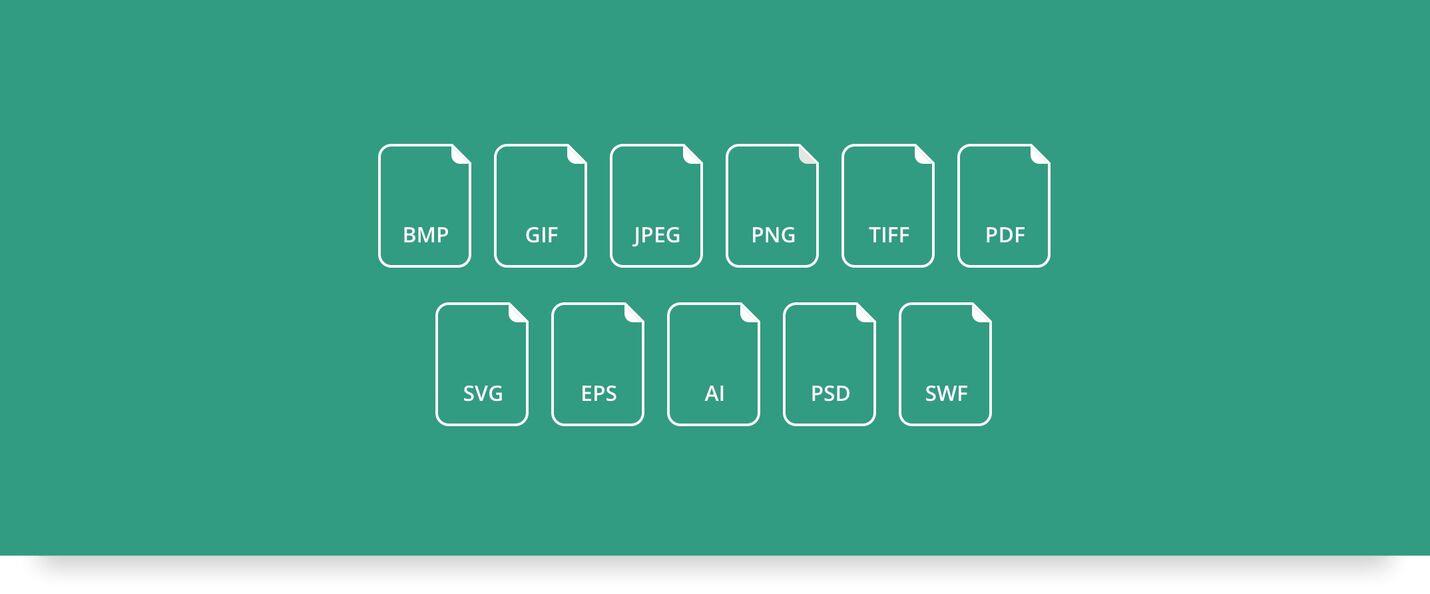 Alle filtyper understøttes i DAM