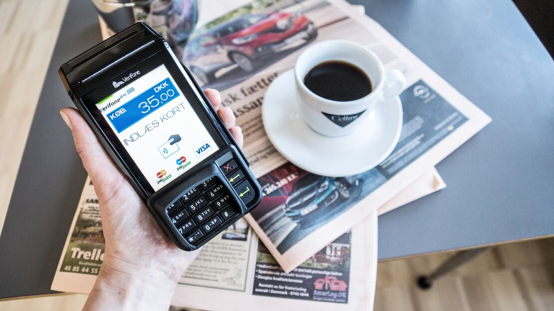 Simple buying process in Verifone's webshop increases their online sales
