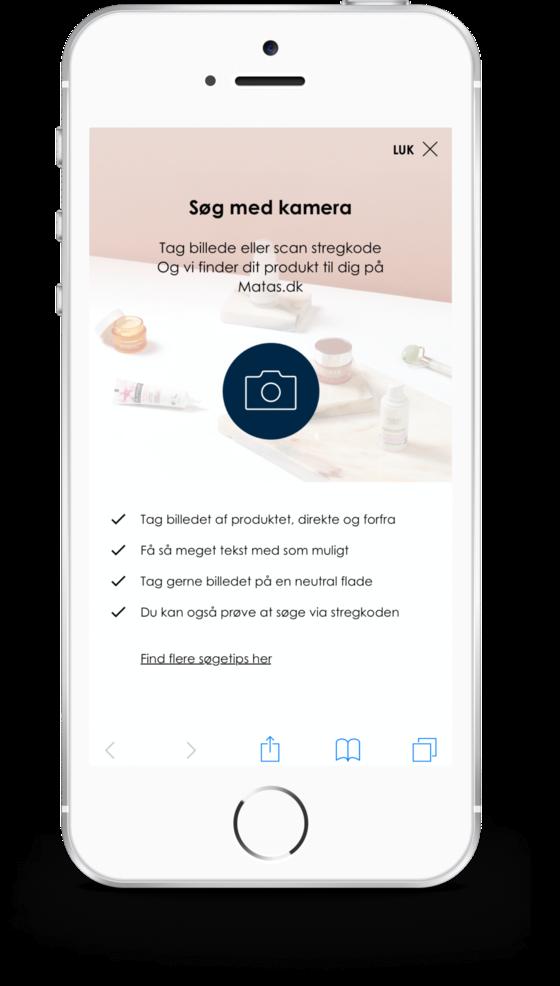 Matas lancerer flere innovative onlinetiltag som fx visual search