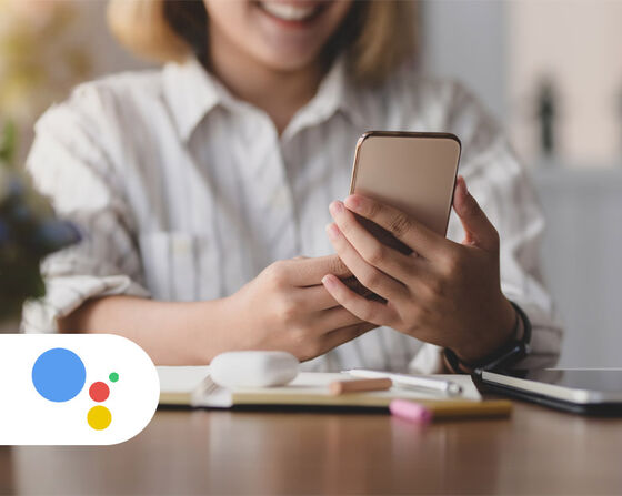 Talk to Matas through Google Assistant