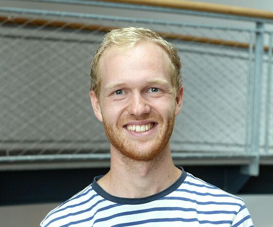 Tobias Ilsøe Jensen, praktikant i UX Design og Analyse, Hesehus